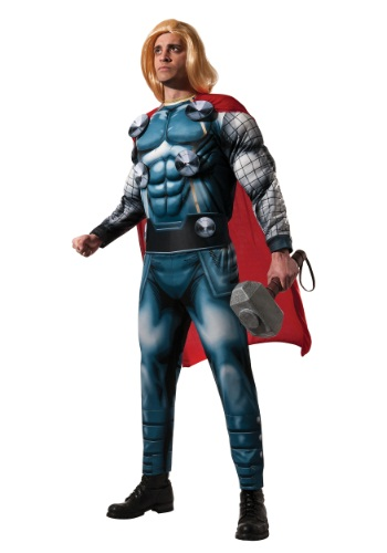 Click Here to buy Adult Deluxe Thor Costume from HalloweenCostumes, CDN Funds