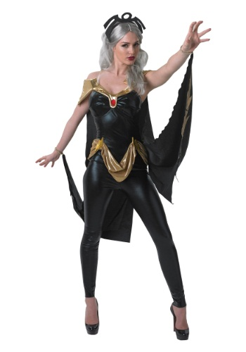 Click Here to buy X-Men Adult Storm Costume from HalloweenCostumes, CDN Funds & Shipping