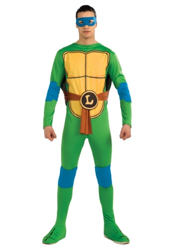 Click Here to buy Adult Classic TMNT Leonardo Costume from HalloweenCostumes, CDN Funds & Shipping