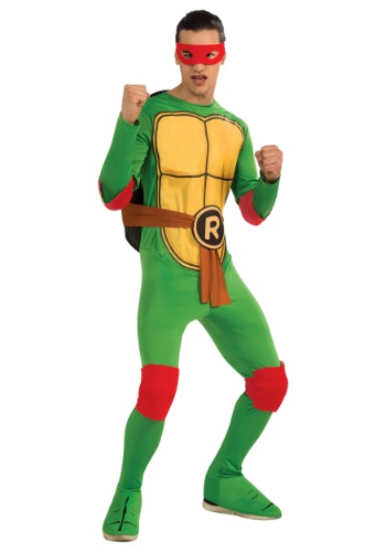 Click Here to buy Classic Adult TMNT Raphael Costume from HalloweenCostumes, CDN Funds & Shipping