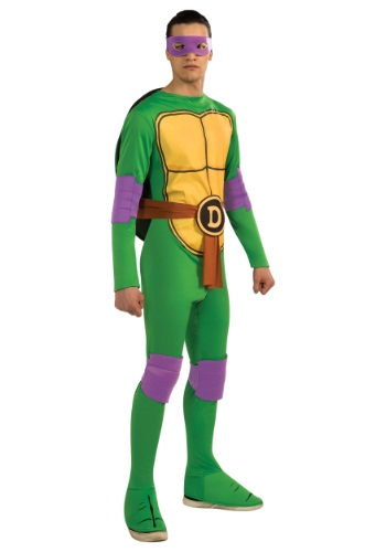 Click Here to buy Classic Adult TMNT Donatello Costume from HalloweenCostumes, CDN Funds & Shipping