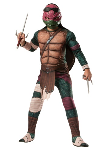 Ninja Turtle Movie Child Deluxe Raphael Costume