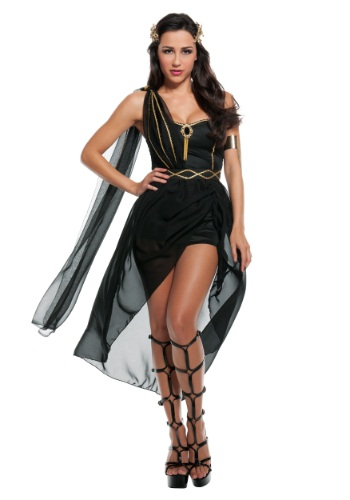 Click Here to buy Womens Dark Goddess Costume from HalloweenCostumes, CDN Funds & Shipping