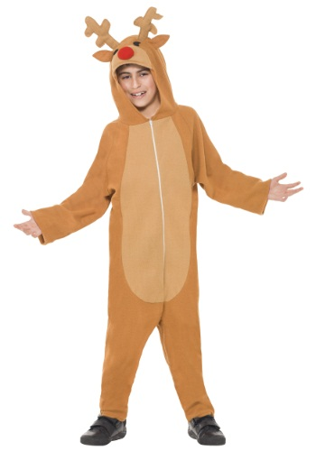 Click Here to buy Kids Reindeer Costume from HalloweenCostumes, CDN Funds & Shipping