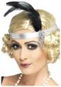 Silver Flapper Headband
