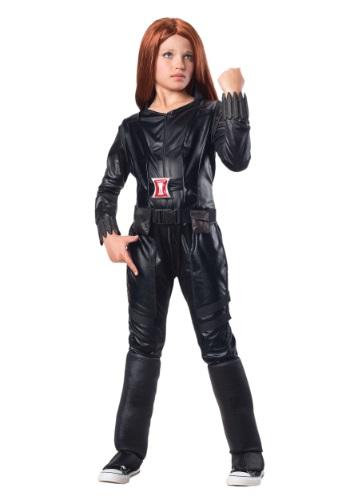 Child Deluxe Black Widow Costume