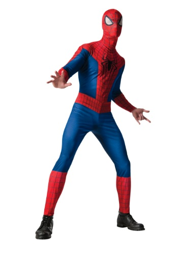Click Here to buy Adult Classic Spider-Man 2 Costume from HalloweenCostumes, CDN Funds & Shipping