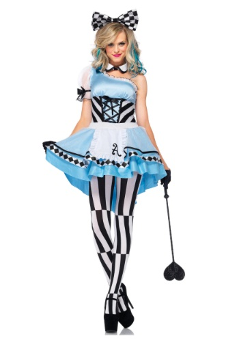 Click Here to buy Adult Psychedelic Alice Costume from HalloweenCostumes, CDN Funds & Shipping