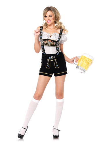 Edelweiss Lederhosen Adult Size Costume | German Costume