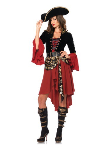 Cruel Seas Captain Adult Size Costume