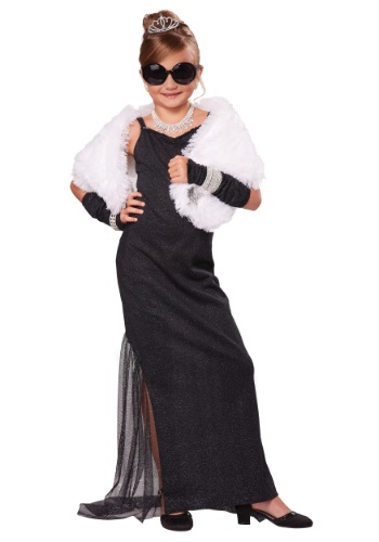 Girls Hollywood Diva Costume