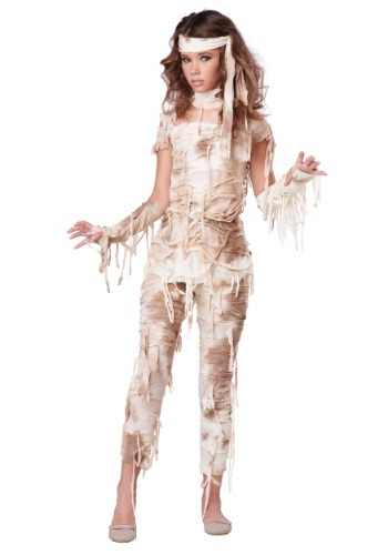 Mysterious Mummy Costume for Teens | Classic Halloween Costumes