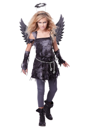 Click Here to buy Teen Spooky Angel Costume from HalloweenCostumes, CDN Funds