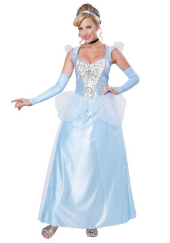 Click Here to buy Womens Classic Cinderella Costume from HalloweenCostumes, CDN Funds & Shipping