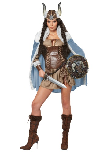 Womens Viking Vixen Costume