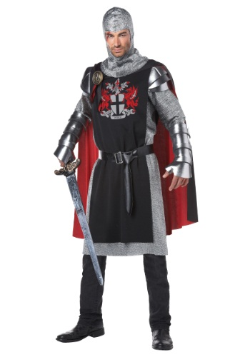 Click Here to buy Mens Medieval Knight Costume from HalloweenCostumes, CDN Funds & Shipping