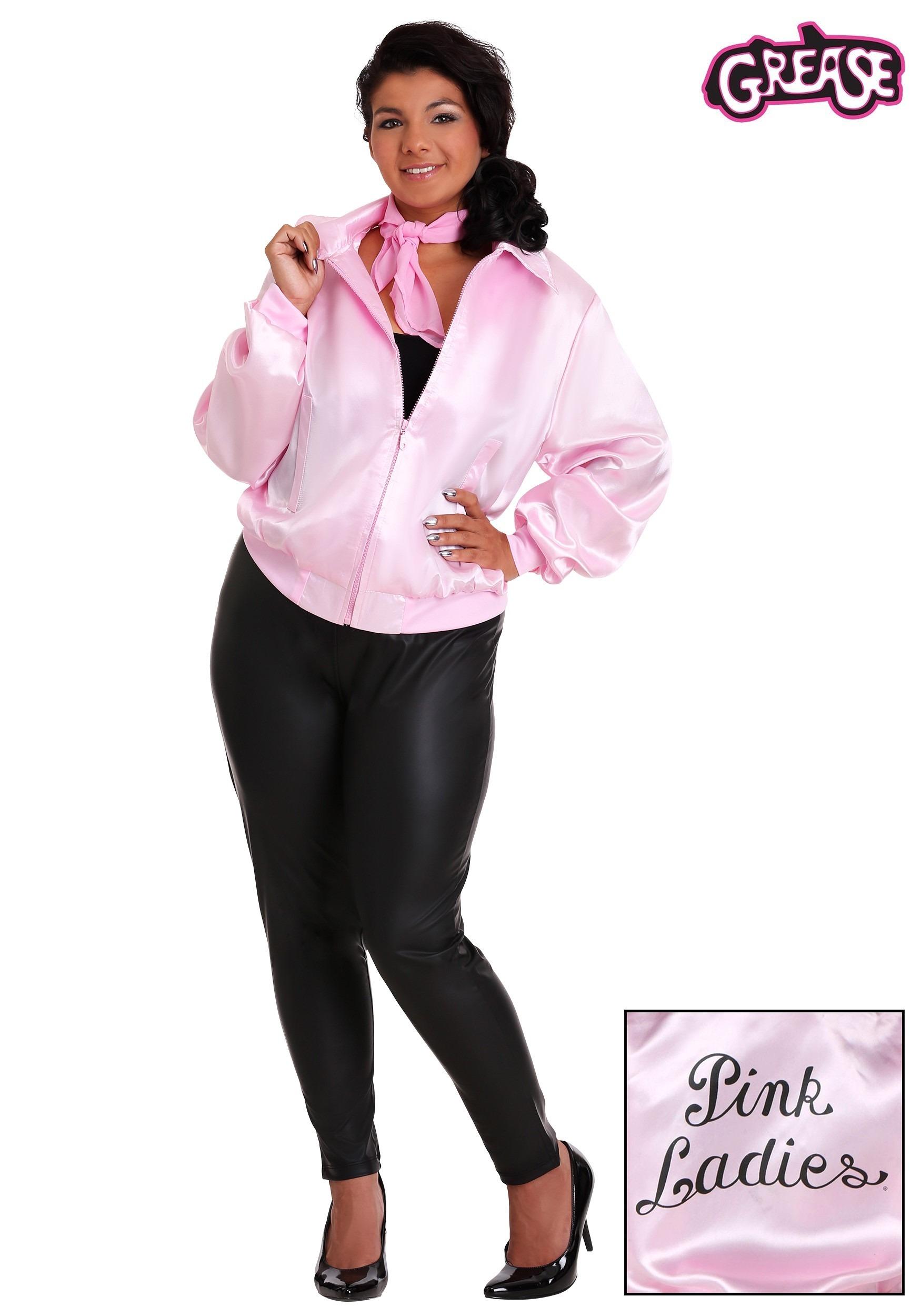Grease Plus Size Pink Ladies Jacket  sc 1 st  Halloween Costumes CA & Adult 50u0027s Costumes - Ladies 50s Costume