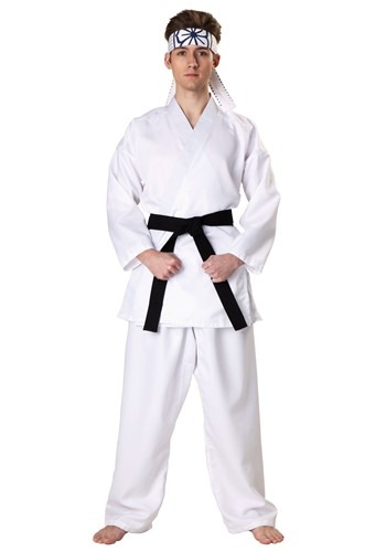 Click Here to buy Karate Kid Daniel San Costume from HalloweenCostumes, CDN Funds & Shipping