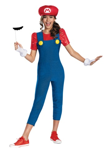Tween Girls Mario Costume | Girls Video Game Costume