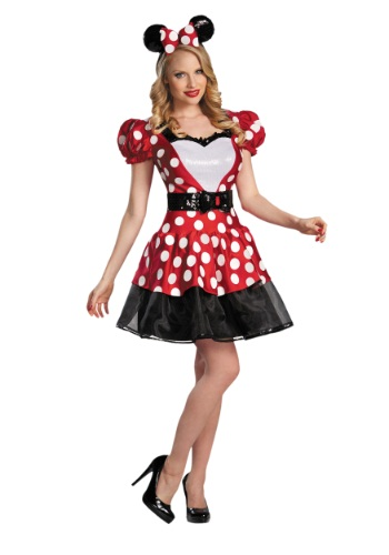 Click Here to buy Red Glam Minnie Mouse Costume from HalloweenCostumes, CDN Funds & Shipping