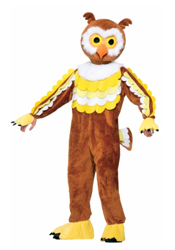 Click Here to buy Give A Hoot Owl Mascot Costume from HalloweenCostumes, CDN Funds & Shipping