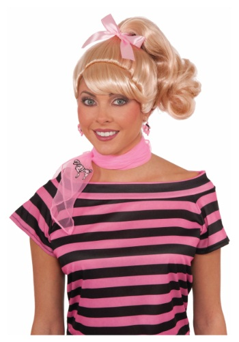 Click Here to buy 50s Cutie Wig from HalloweenCostumes, CDN Funds & Shipping