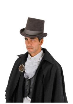 Gray Coachman Hat