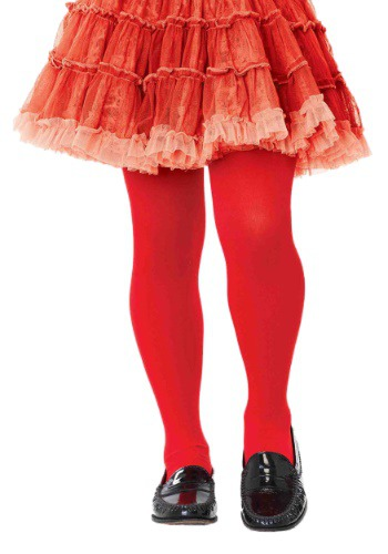 Click Here to buy Kids Red Tights from HalloweenCostumes, CDN Funds & Shipping