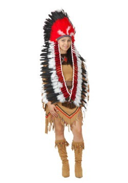 Indian Headdress w/Trailer