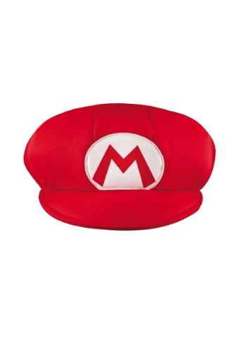 Click Here to buy Mario Adult Hat from HalloweenCostumes, CDN Funds & Shipping