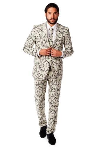 Mens OppoSuits Money Costume  Suit