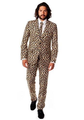 Mens Jaguar Print Suit OppoSuits Costume