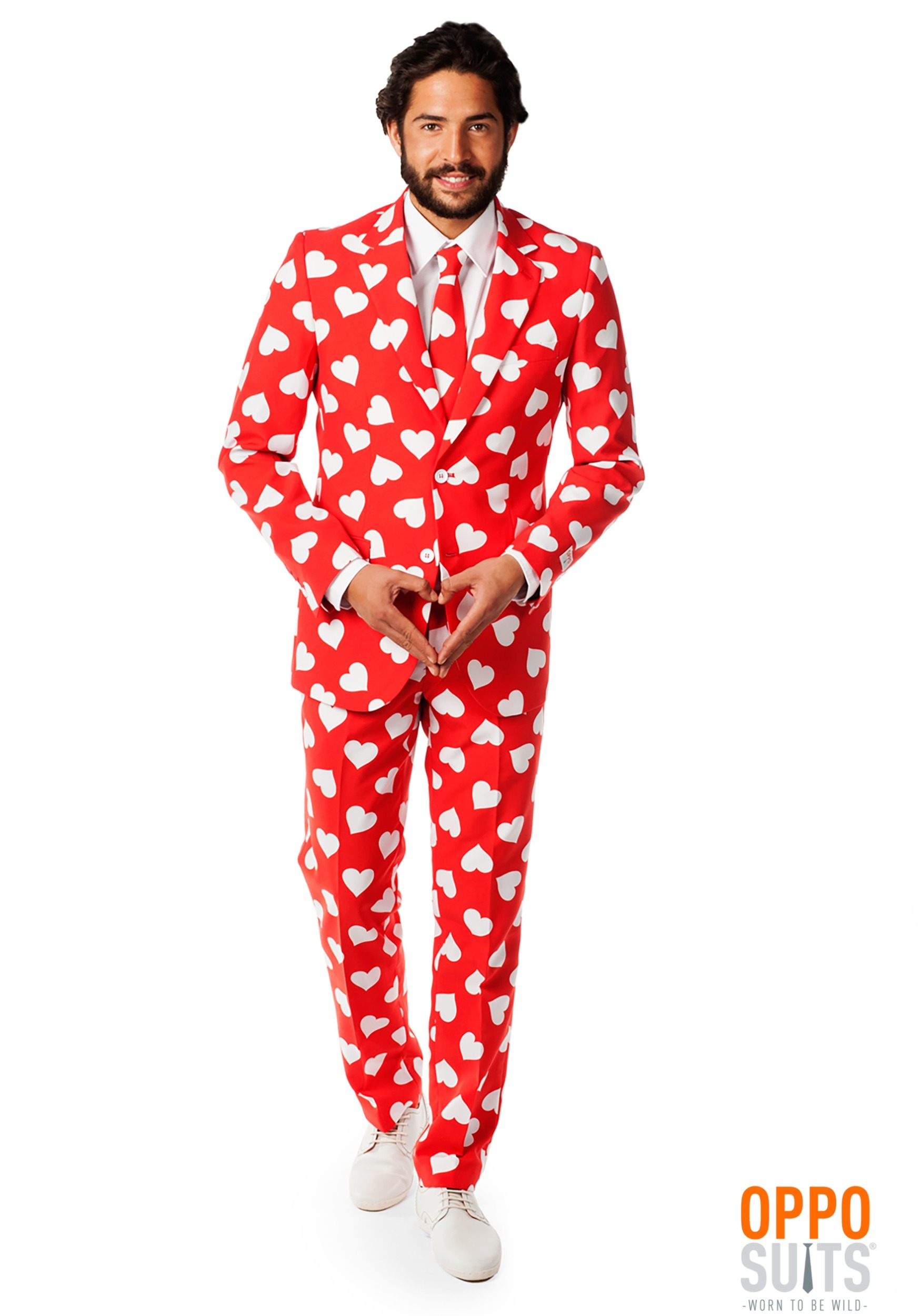 f84584d7a5 OppoSuits Mr. Lover Heart Costume Suit for Men