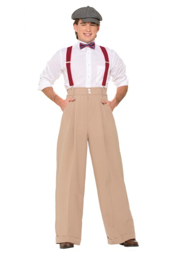 Click Here to buy Mens Roarin 20s Deluxe Pants from HalloweenCostumes, CDN Funds & Shipping