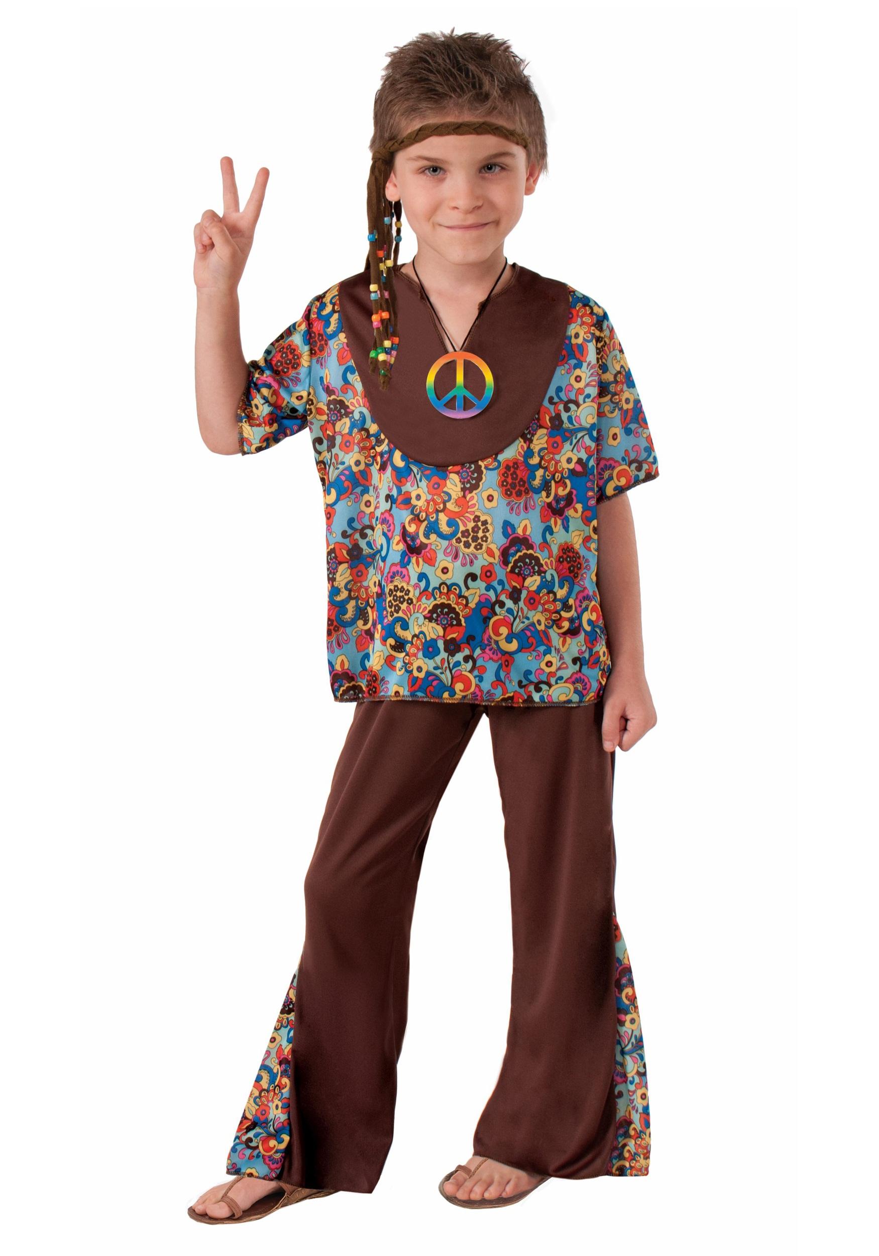 sc 1 st  Halloween Costumes CA & Hippie Boy Costume