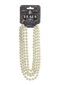 Ivory Flapper Beads
