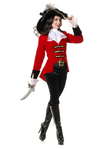 Womens Regal Pirate Lady Costume