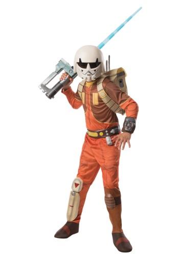 Kids Deluxe Ezra Star Wars Rebels Costume