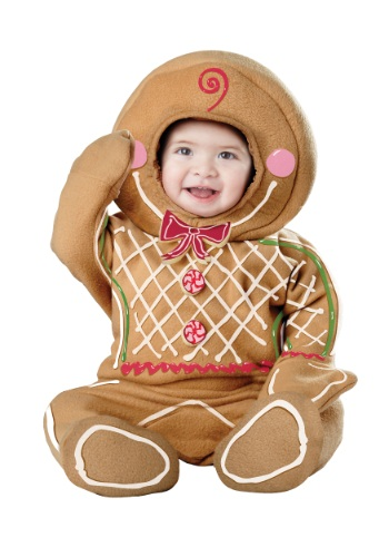 Click Here to buy Baby Gingerbread Man Costume from HalloweenCostumes, CDN Funds & Shipping