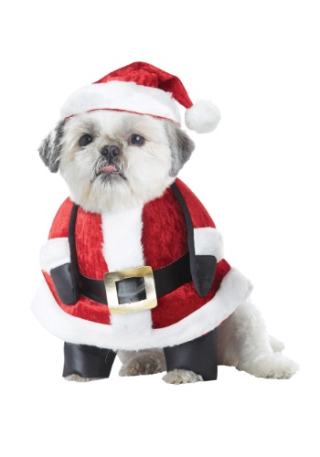 Click Here to buy Santa Pup Dog Costume from HalloweenCostumes, CDN Funds & Shipping