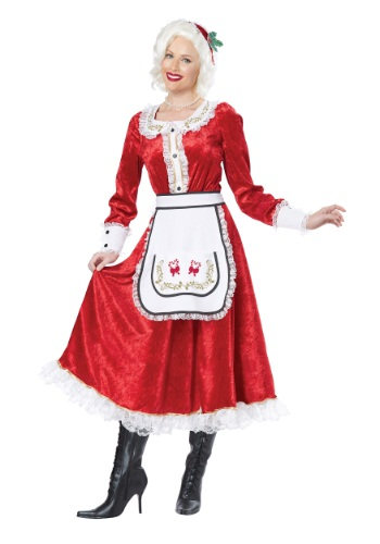 Click Here to buy Classic Mrs. Claus Costume from HalloweenCostumes, CDN Funds & Shipping