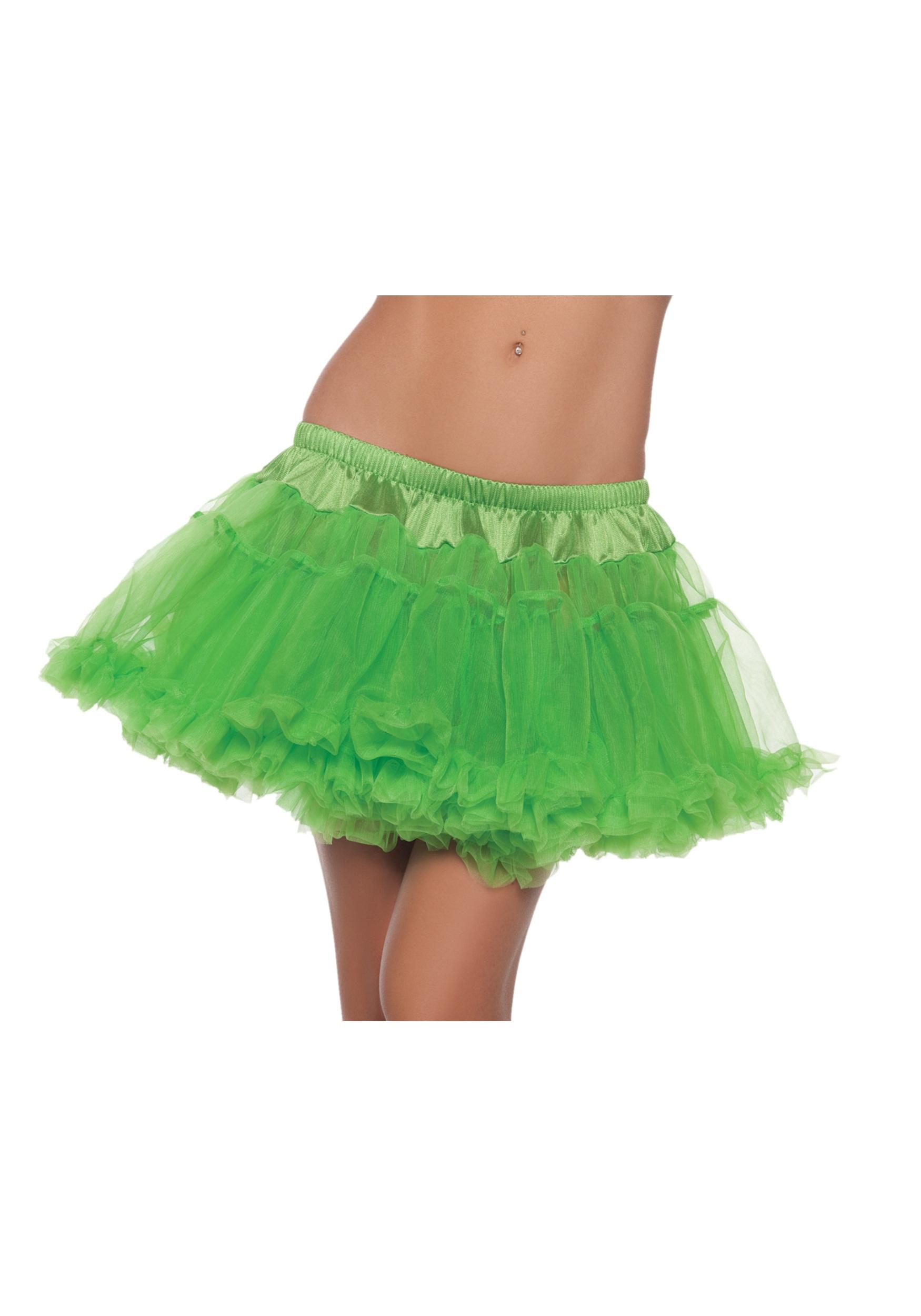 12_Green_2Layer_Petticoat