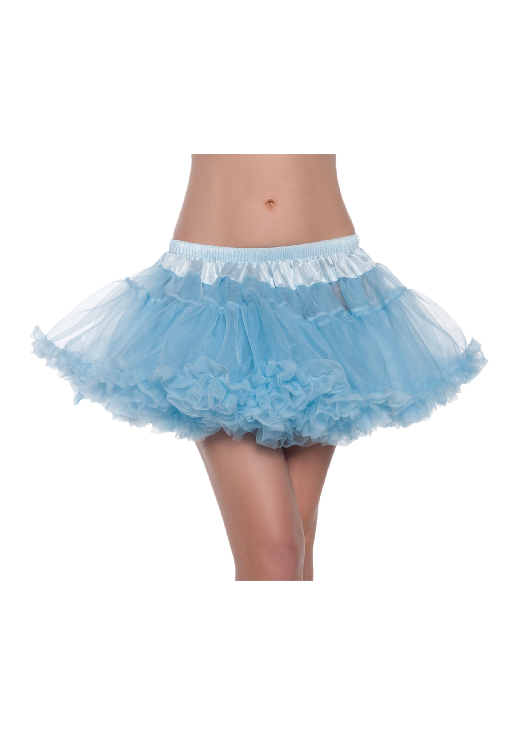 "12""_Sky_Blue_2-Layer_Petticoat"