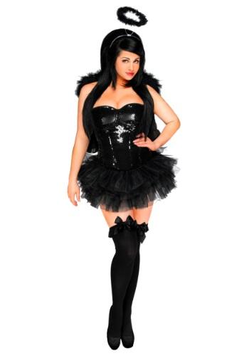 Womens Dark Angel Corset Costume