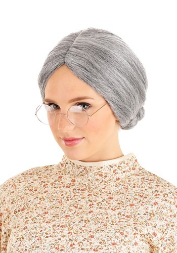 Grey Old Lady Wig