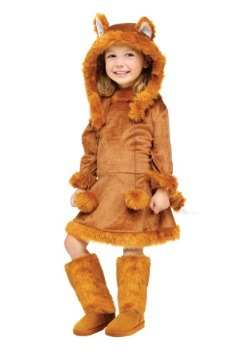 Sweet Fox Girls Costume