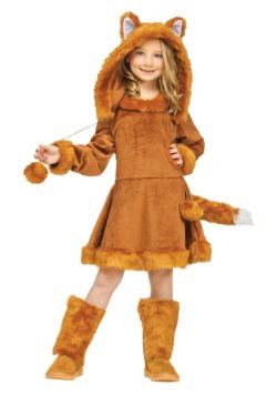Sweet Girls Fox Costume
