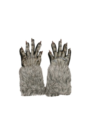 Click Here to buy Grey Werewolf Gloves from HalloweenCostumes, CDN Funds