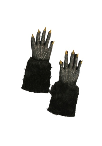 Click Here to buy Black Werewolf Gloves from HalloweenCostumes, CDN Funds & Shipping