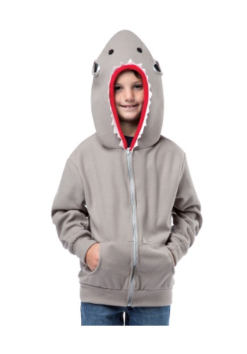 Child Shark Hooded Sweatshirt